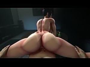 Juri Han Gets Her Big Ass FUCKED Hard &amp_ Deepthroats Big Cock | Street...