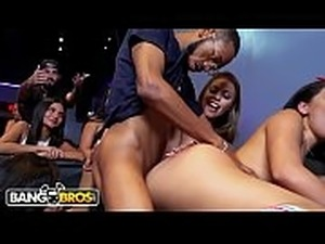 BANGBROS - Taking Over A Hookah Lounge With Pornstars Britney Amber, Maya...
