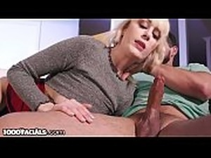 1000Facials Blonde Teen Sucks Boyfriend&rsquo_s Dick To Get Rid Of Him