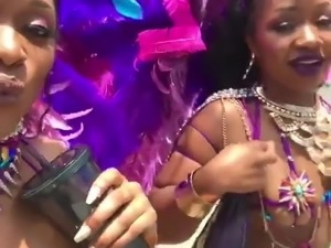 dominican black babes in the carnival 2