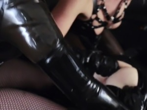 Slave Destroyed By Two Mistress'