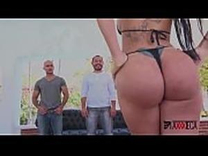 Axxxteca Brazilian slut Elisa Sanches gets double anal penetration by mexican...