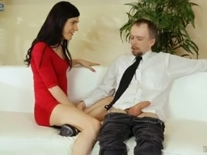 Lustful shemale Stefani Special wanna be analfucked from behind