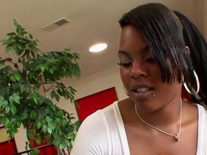 Ebony Babe Coffee Brown Stretched by BBC