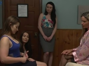 Dani Daniels is American lesbian who loves both eating and fingering pussy
