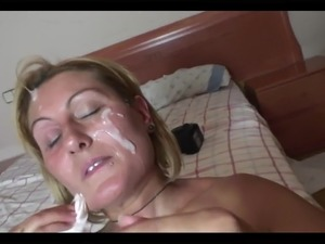 Hot Bodied Spanish Milf Takes Two Loads