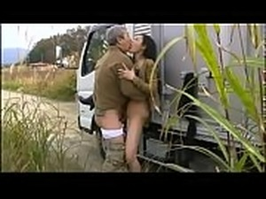Asian mature Milf pee and fuck on a road trip - ReMilf.com