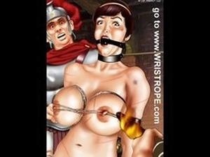 Drawings breast bondage Boobs In