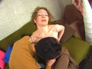 Russian mom strapon 5
